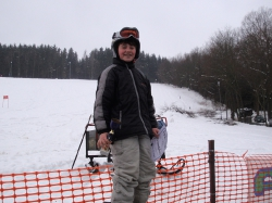 Riesenslalom am 22.02.2009