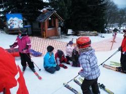 Grundschule auf unserem Skihang